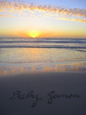 Baby_James sand