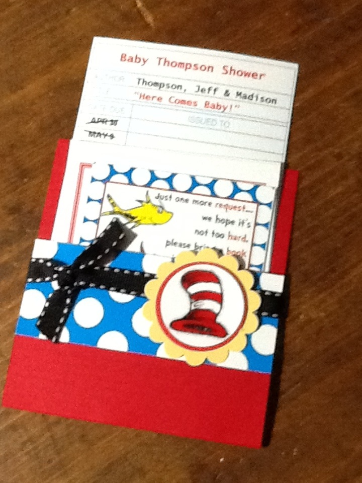 Dr. Seuss Baby Shower | Paper Glue Etc.