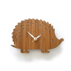 Hedge hog clock